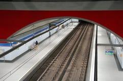 马德里地铁 图库摄影