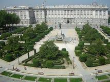 马德里宫殿西班牙 图库摄影