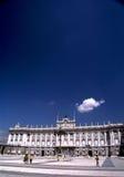 马德里宫殿 库存照片