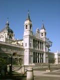 马德里宫殿 免版税库存图片