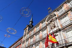 马德里市长palza西班牙 免版税图库摄影