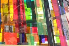 马德里有机玻璃 免版税库存图片