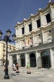 马德里皇家剧院 免版税库存图片
