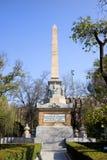 马德里纪念品纪念碑 库存照片