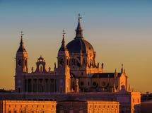 马德里西班牙在欧洲 图库摄影