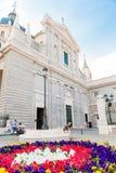 马德里西班牙- 2015年6月23日:圣玛丽大教堂  免版税图库摄影