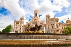马德里西班牙 免版税库存图片