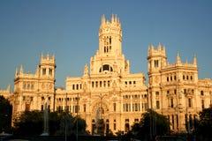 马德里西班牙townhall 免版税库存图片