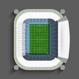 马德里足球场 免版税库存图片
