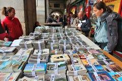 马德里跳蚤市场 免版税库存照片
