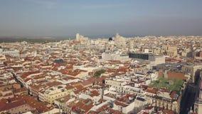 马德里都市风景  股票视频