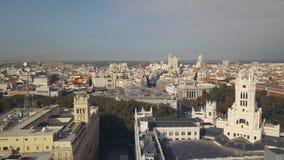 马德里都市风景  影视素材