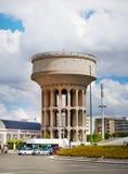 马德里,老水塔 免版税库存照片