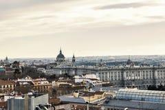 马德里,西班牙的首都 免版税库存图片