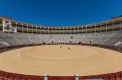 马德里,西班牙美妙的Las Ventas竞技场  免版税库存照片
