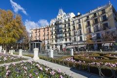 马德里,西班牙- 2014Mediterranean 12月06,在S的建筑学 图库摄影