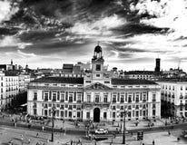 马德里, Casa de Correos 图库摄影