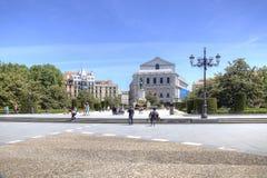马德里 东部正方形 免版税库存照片