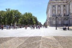 马德里 东部正方形 库存照片