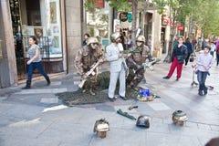 马德里 从生存雕塑的照片 免版税图库摄影