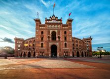 马德里 竞技场Las Ventas 免版税库存照片