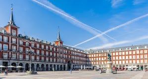 马德里建筑学,西班牙的首都 免版税库存图片