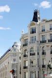 马德里建筑学 库存图片