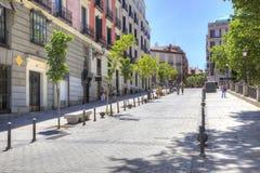 马德里 都市风景 库存照片