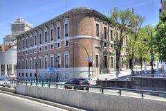 马德里 都市风景 免版税库存照片