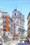 马德里 都市风景 免版税图库摄影