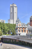 马德里 都市风景 图库摄影