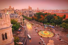 马德里 免版税库存照片