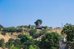 马恩达沃或Mandu郊外小山宫殿 免版税库存照片