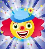 马戏团小丑 皇族释放例证