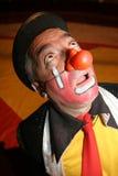 马戏团小丑 免版税图库摄影