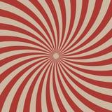 马戏图表半径作用红色减速火箭的颜色和浅褐色为可笑的背景 向量例证