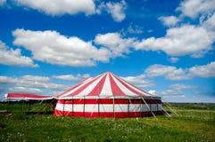 马戏场帐篷 免版税库存图片