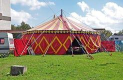 马戏场帐篷 图库摄影