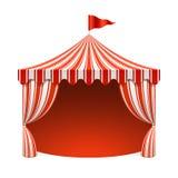 马戏场帐篷 皇族释放例证