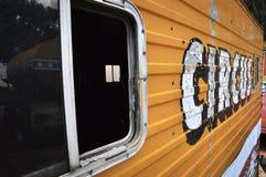 马戏有蓬卡车 库存照片