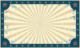 马戏游艺集市海报或票的模板 皇族释放例证