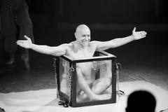 马戏的柔术表演者人 免版税库存照片