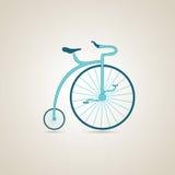 马戏自行车 例证 免版税图库摄影