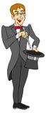 马戏魔术师 皇族释放例证