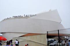 马托西纽什巡航终端在葡萄牙 库存图片