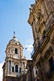 马拉加大教堂 库存图片