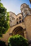 马拉加大教堂 免版税库存图片