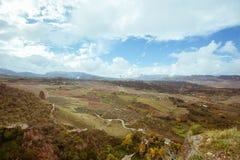 马拉加朗达最小面积的领域  库存图片