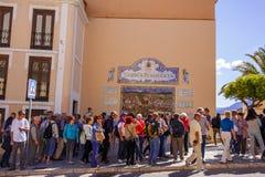 马拉加朗达西班牙 免版税图库摄影
