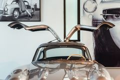 马拉加汽车博物馆在西班牙 库存图片